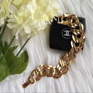 Monet Vintage Signed Bracelet
